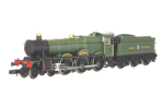 2S-010-007D Dapol Hall 4970 Sketty Hall GW Lined Green (DCC-Fitted)